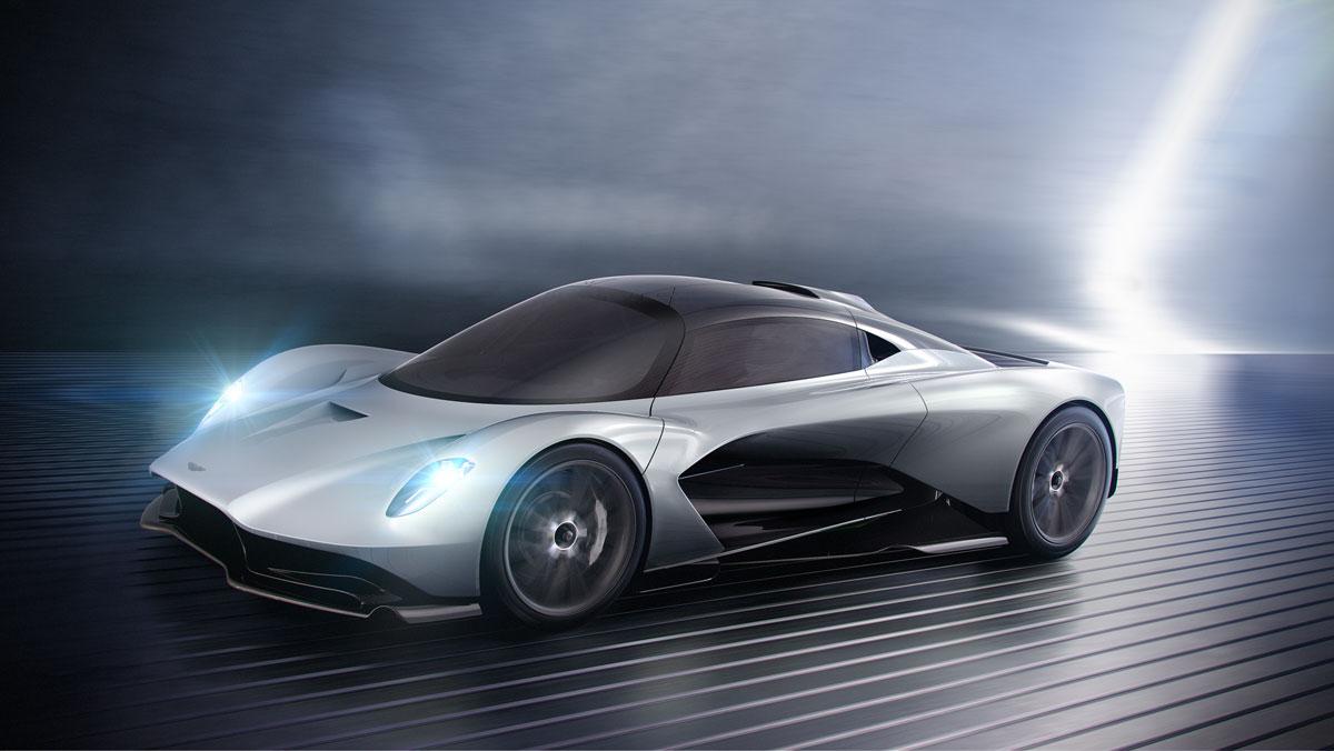 Aston Martin Präsentiert Hypercar Mit 3d Gedruckten Teilen