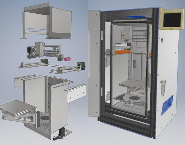 3D-Hochtemperatur-Drucker