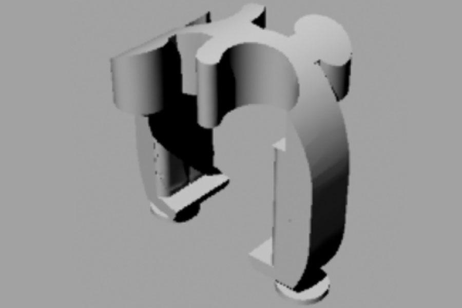 Technische Zeichnung Gasring