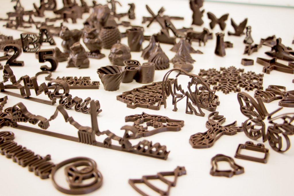 mycusini Schokolade 3D-Drucker