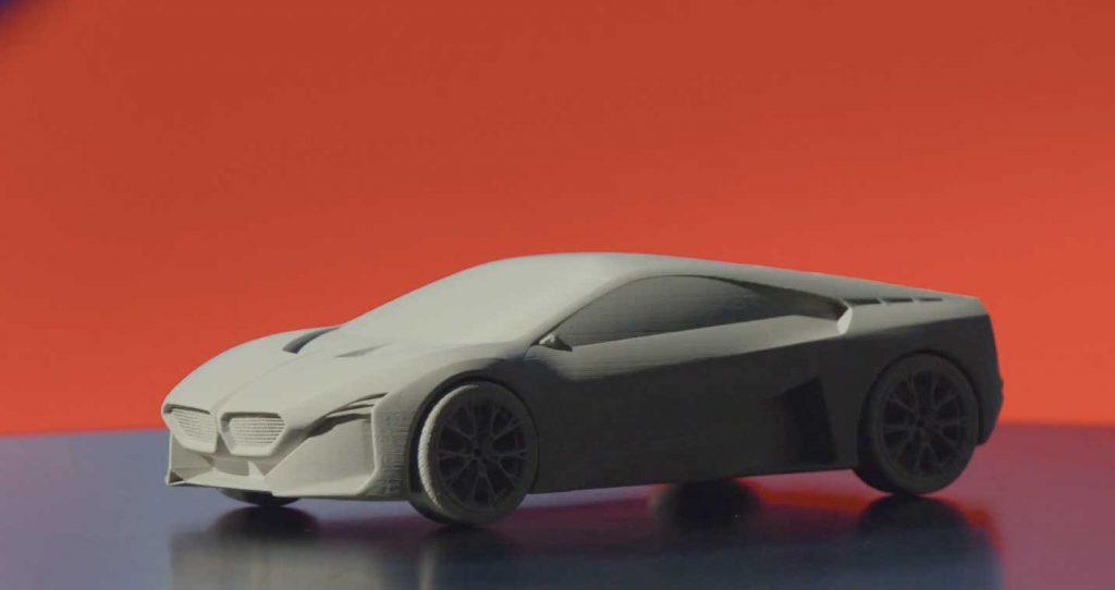 3D-gedrucktes Konzeptauto von BMW