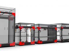 Portfolio der Großraum 3D-Drucker von Modix.