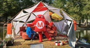 Der Makey darf natürlich auf keiner Maker Faire fehlen.