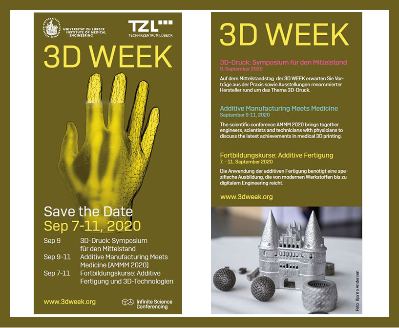 3D Week 2020 Save the date