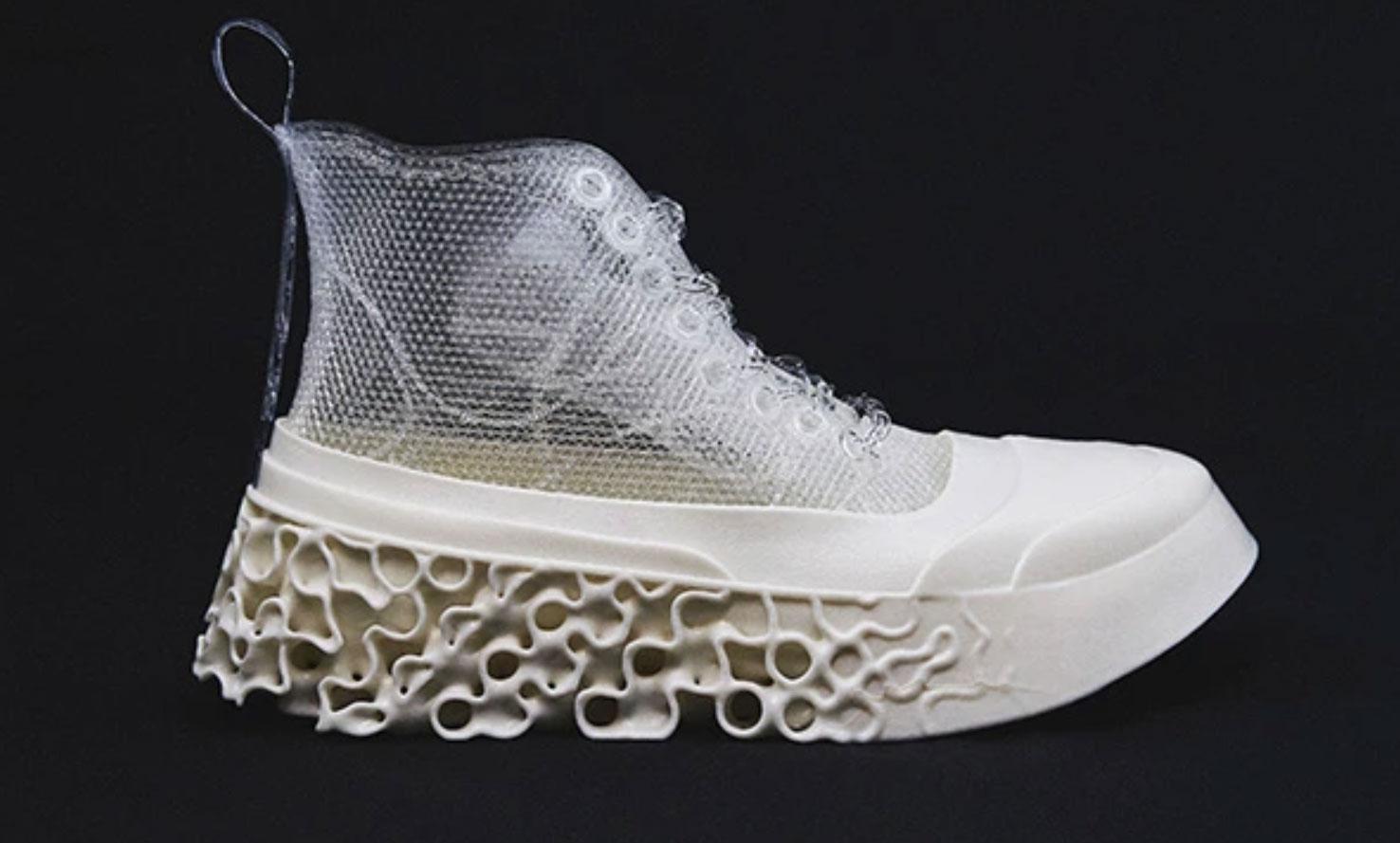 magarimono 3D-gedruckter Schuh