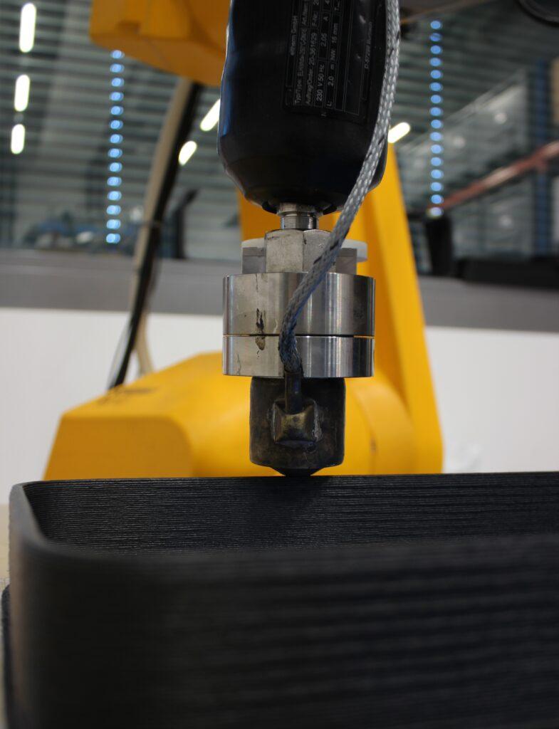 Der neuartige Druckkopf ermöglicht eine Druck- und Temperaturmessung der verarbeitenden Kunststoffschmelze.